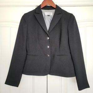 Tahari Arthur S. Levine Black Petite Blazer, 2P